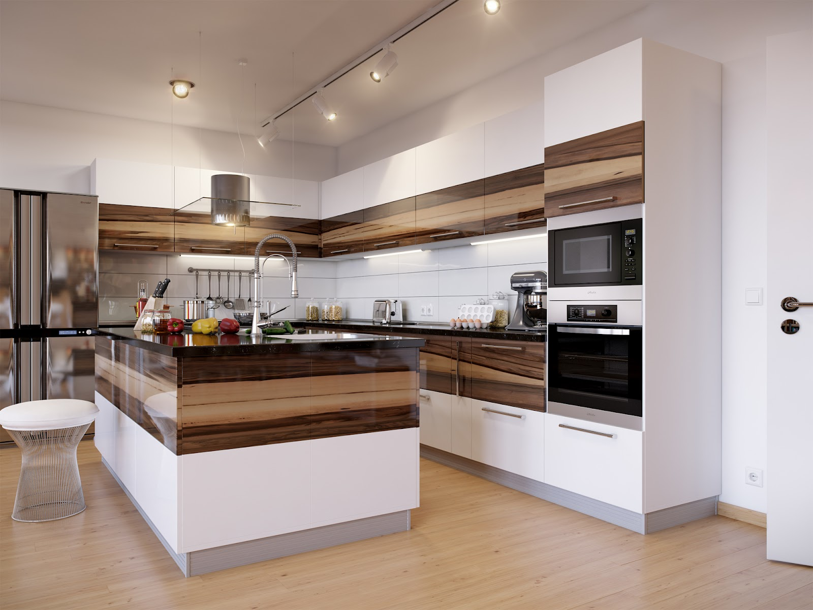 High-end-modern-kitchen-Cabinets
